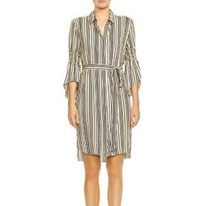 NWT Halston Heritage Shirt Dress Medium